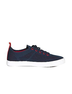 Flying Machine Contrast Sole Low Top Sneakers