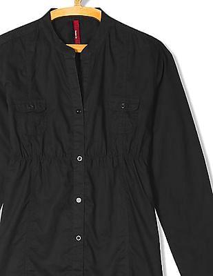 U.S. Polo Assn. Women Regular Fit Panelled Shirt