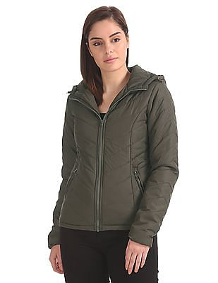 Aeropostale Quilted Hooded Jacket