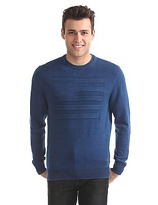 U.S. Polo Assn. Denim Co. Crew Neck Cotton Sweater