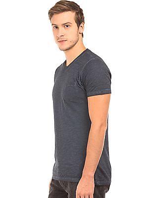 Ed Hardy Heathered V-Neck T-Shirt