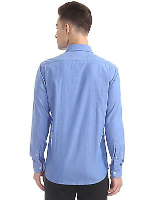 Arrow Sports Slim Fit Oxford Shirt