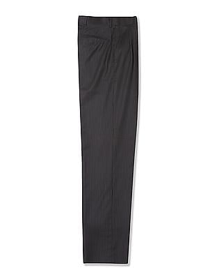 Arrow Woollen Pleated Front Trousers