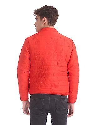 Flying Machine Detachable Hood Puffer Jacket