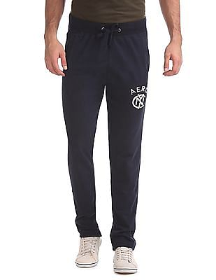 Aeropostale Regular Fit Drawstring Waist Track Pants