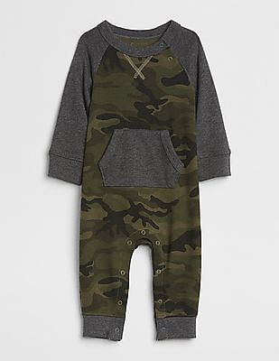 GAP Baby Raglan One-Piece