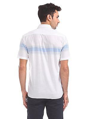 Arrow Sports Regular Fit Striped Shirt