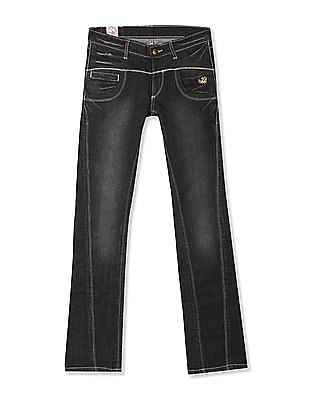 Flying Machine Women Cindy Skinny Fit Bootcut Jeans