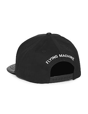 Flying Machine Contrast Trim Panelled Cap