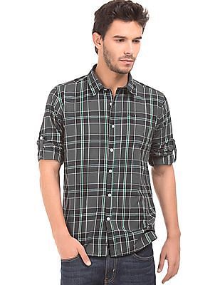 Ruggers Contemporary Fit Check Shirt