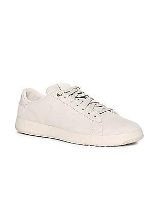 Cole Haan Beige GrandPro Tennis Sneakers