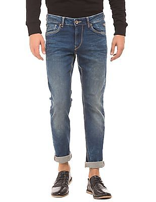 Flying Machine Dark Stone Wash Skinny Fit Jeans