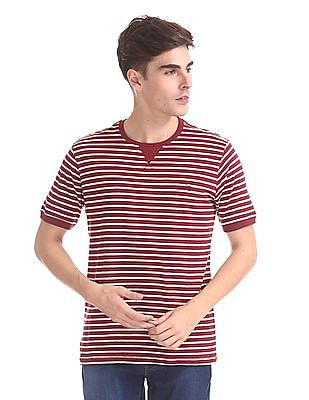 Cherokee Cotton Stripe T-Shirt