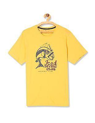 Izod Slim Fit Graphic T-Shirt