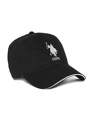 38efc4802 U.S. Polo Assn. Contrast Embroidery Panelled Cap. OFFER. SHOP NNNOW
