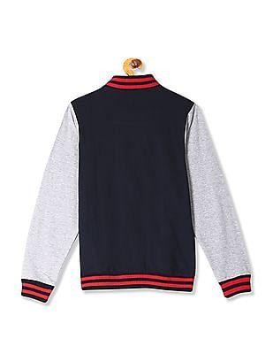 Cherokee Boys Colour Blocked Sweat Jacket