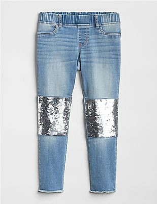 GAP Girls Flippy Sequin Favorite Jeggings