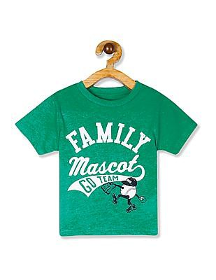 The Children's Place Green Toddler Boys Short Sleeve Graphic T-Shirt