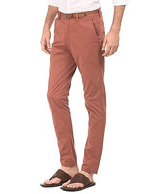 Cherokee Slim Fit Twill Trousers