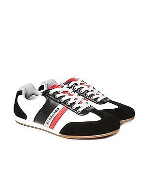 U.S. Polo Assn. Pebble Grain Contrast Trim Sneakers
