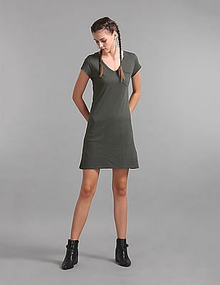 GAP V-Neck Tee Dress