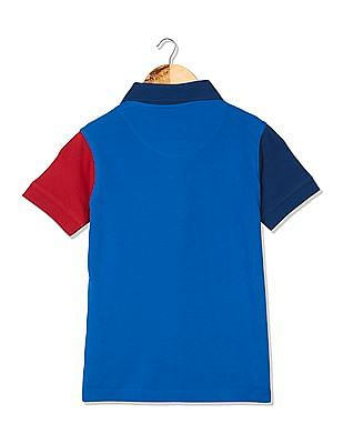 FM Boys Boys Slim Fit Polo Shirt