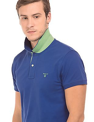 Gant Regular Fit Heathered Polo Shirt