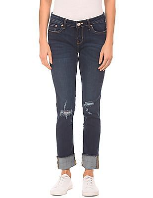 Aeropostale Distressed Slim Fit Jeans