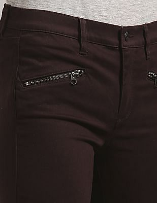 GAP Mid Rise True Skinny Jeans With Zip Detail