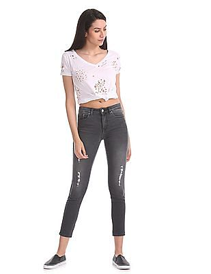 Aeropostale Mid Rise Jegging Fit Jeans