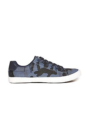Aeropostale Contrast Trim Lace Up Sneakers