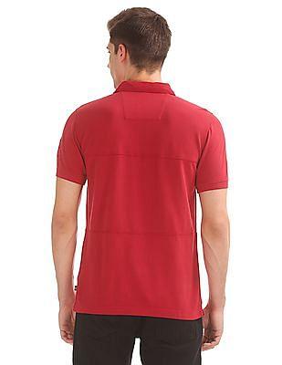 Nautica Panelled Slim Fit Polo Shirt