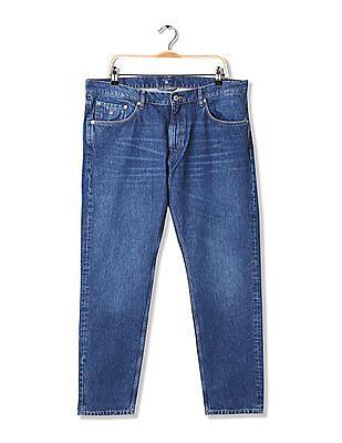 Gant Warp Slim Tapered Fit Stone Wash Jeans