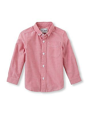 The Children's Place Baby Long Sleeve Oxford Shirt
