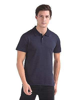 Arrow Short Sleeve Solid Polo Shirt