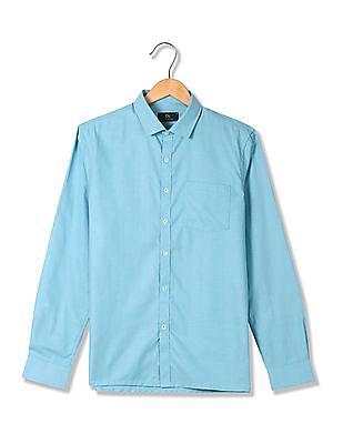 Excalibur Spread Collar Chest Pocket Shirt