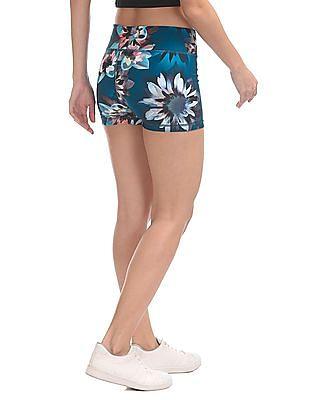 Aeropostale Floral Print Active Shorts
