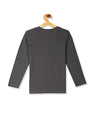 The Children's Place Grey Boys Ninja Goals Graphic T-Shirt