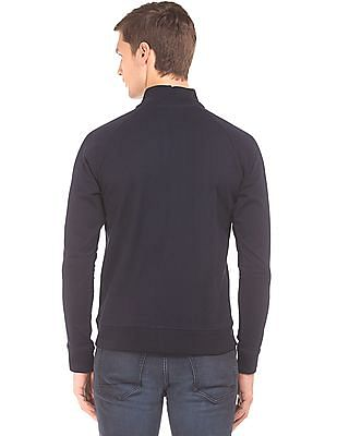 Aeropostale Regular Fit Solid Sweatshirt