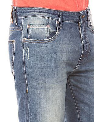 Aeropostale Distressed Stone Wash Jeans