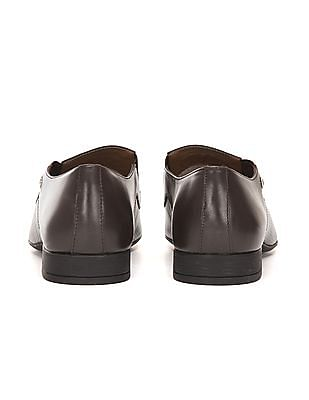 Arrow Slip On Leather Shoes