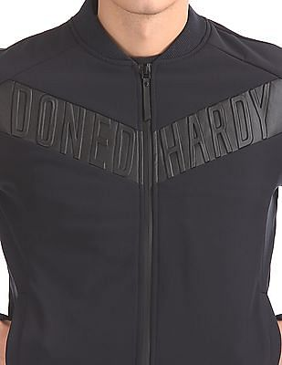 Ed Hardy Contrast Panel Bomber Jacket