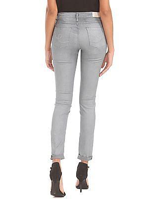 Elle Super Skinny Fit Low Rise Jeans