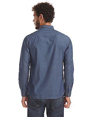Izod Slim Fit Solid Shirt