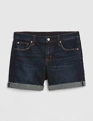 """GAP Mid Rise 5"""" Denim Shorts"""