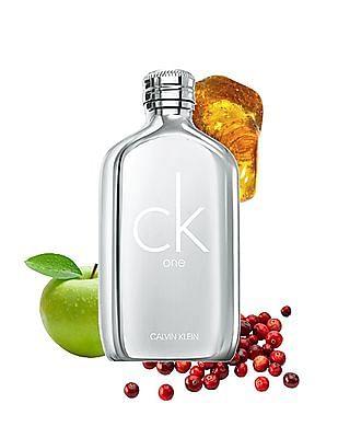 Calvin Klein Fragrances CK One Platinum Eau De Toilette Unisex Spray
