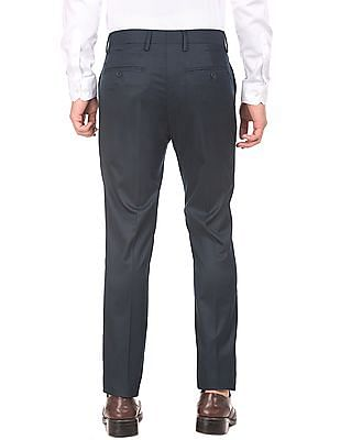 USPA Tailored Flat Front Super Slim Fit Trousers