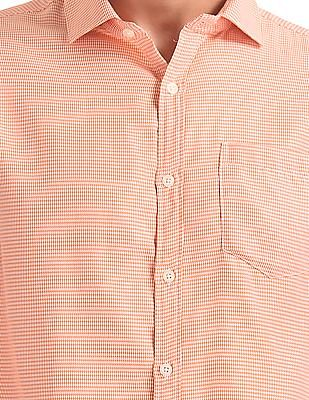 Excalibur Classic Fit Patterned Weave Shirt