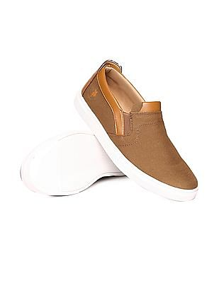 U.S. Polo Assn. Mid Top Round Toe Slip On Shoes