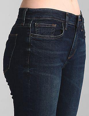GAP Blue Skinny Fit Dark Wash Jeans